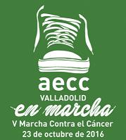 quinta marcha contra el cáncer en Valladolid